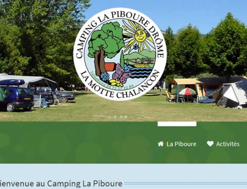 Camping La Piboure – New Website